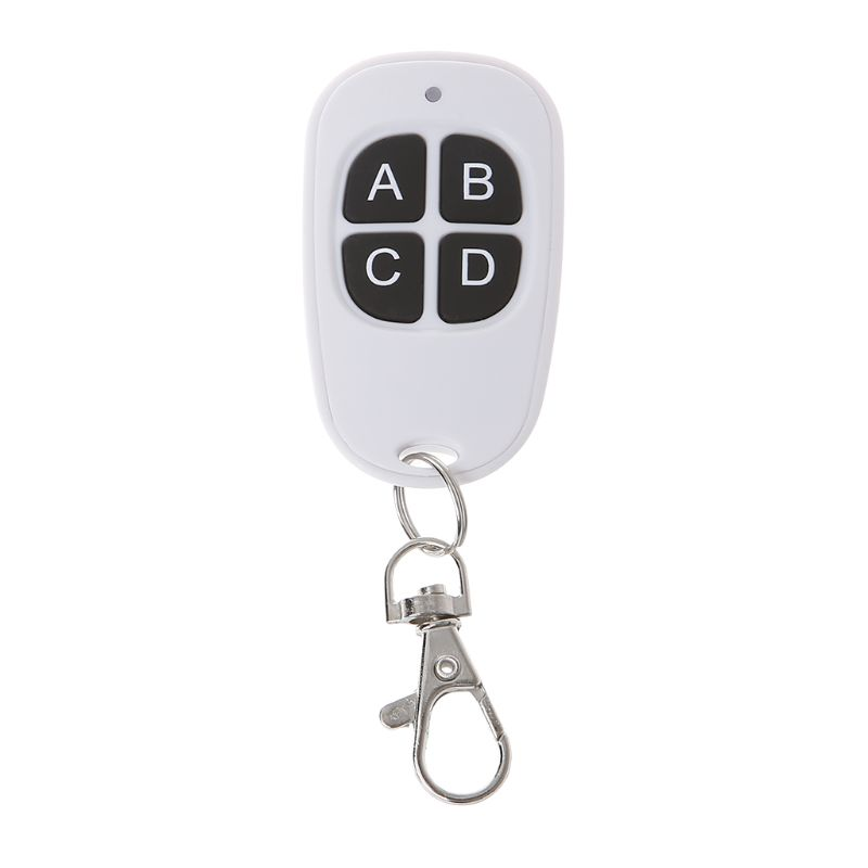 Copy <font><b>Remote</b></font> Control 433MHz <font><b>315MHz</b></font> Cloning <font><b>Duplicator</b></font> Wireless 4 Silicone Keys <font><b>Universal</b></font> Waterproof Handle Garage Gate Electric image