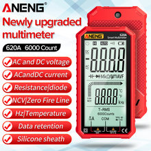 ANENG 620A Digital Multimeter AC/DC Ammeter Testers 6000 Counts Current Voltage Measurement True RMS Auto Electrical Capacitance