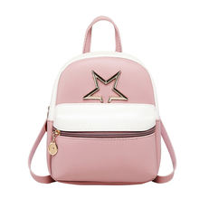 Маленький кожаный рюкзак vento marea для девочек подростков