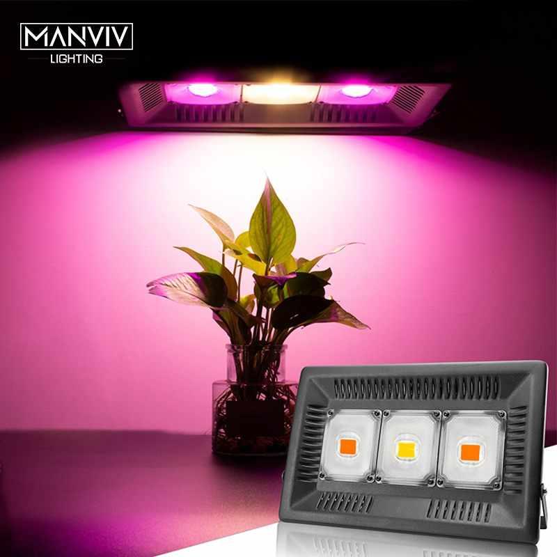 Oświetlenie Led do uprawy 30W 50W 100W 150W AC 220V 110V Fitolamp IP65 wodoodporne pełne spektrum do siewu kwiatów roślina rosnąca lampa fito