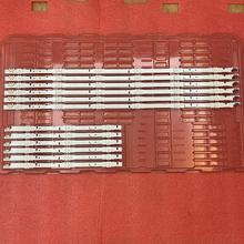 12 Pçs/set tira conduzida luz de fundo para Samsung UE48H6400 UE48J5600 UE48J5600 UE48H5000 UE48H5500 UE48H6200AK D4GE 480DCA 480DCB R3