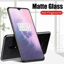 2.5D против следов от пальцев матовое закаленное стекло для OnePlus 7 6 6T 5 5T Защитная пленка для экрана