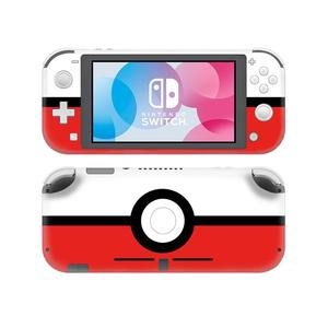 Image 2 - Pokemon Go Pikachu Skin Sticker Decal For Nintendo Switch Lite Console and Controller Protector Joy con Switch Lite Skin Sticker