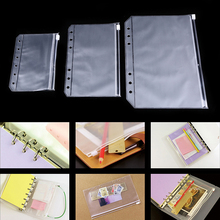 File-Folder Document-Bag Filing-Product Paper Zip-Book A5 School-Supplies Office A7 A6