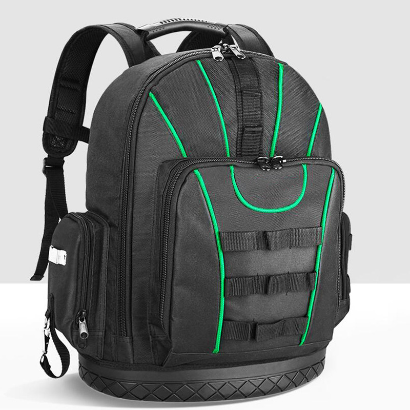 Shoulder Kit Multifunctional Waterproof Backpack Tool Storage Bag Electrician Carpenter Instrument Box Large Capacity Handbag