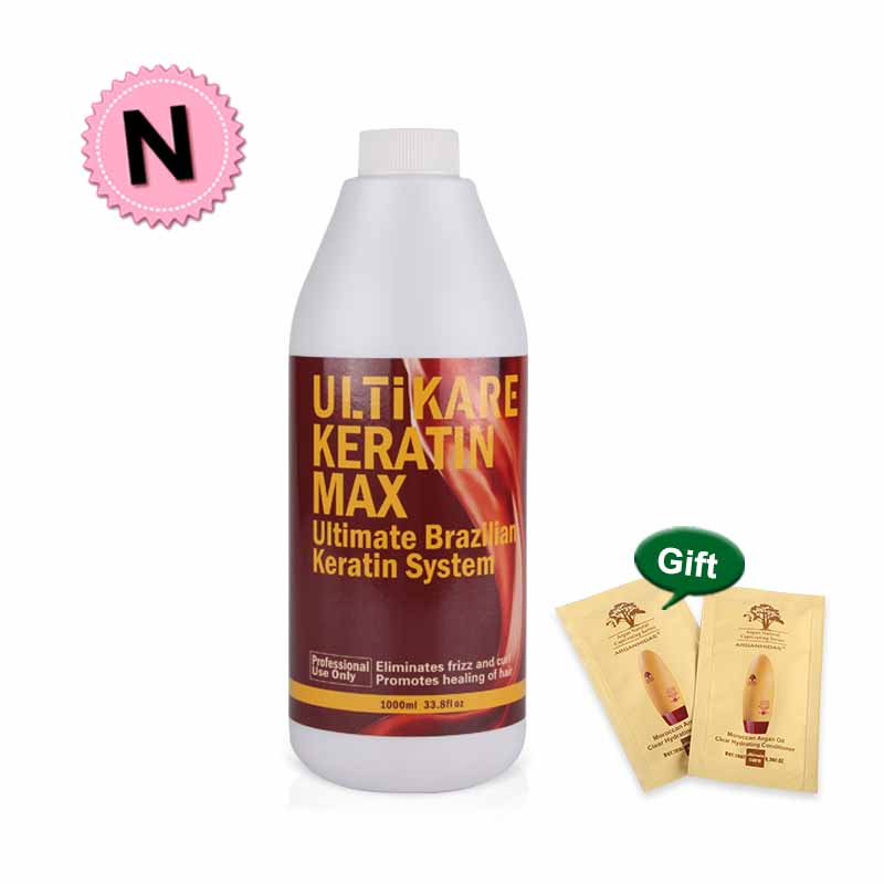 Best Effect Brazilian Keratin Treatment Straightening 5% Eliminate frizz and Make Shiny & Healthier Hair Free Shipping