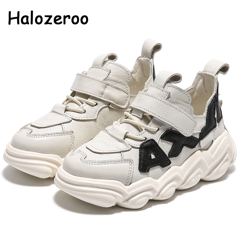 Spring Kids Sport Sneakers Boys Brand Running Shoes Children White Chunky Sneakers Baby Girls Mesh Casual Sneakers Trainers New
