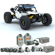2019 NEW 4WD RC Buggy For MOC 19517 Building Blocks Toy Kit DIY Educational Children Birthday Gift Fit For Technic Cars(China)