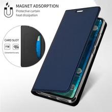 Магнитный флип-кошелек для Xiaomi Redmi Note 4 4X 5 6 7 8 8T 9 9s K20 K30 Pro K30i 10X 6A 5 Plus, магнитный кожаный смарт-чехол