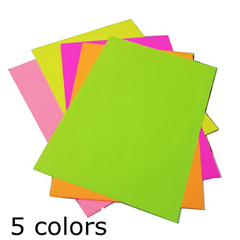 A4 Colour Wrapping Paper Copier Printing Paper 80g Children Colour Origami Material Handmade Paper Cardboard Package