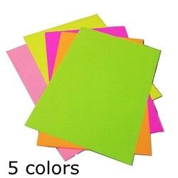 A4 cor que envolve o papel de impressão da copiadora 80g crianças cor origami material pacote de papelão de papel feito à mão