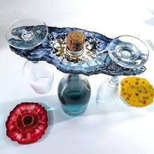 Форма для держателя стаканов форма вина diy эпоксидная смола