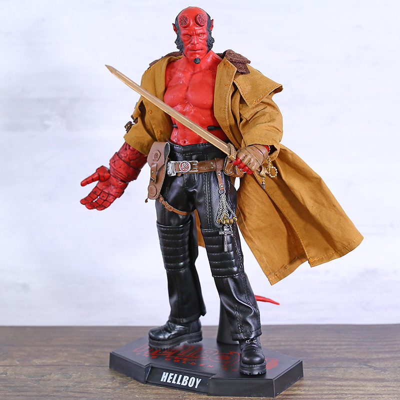 Hellboy II 2 The Golden Army 1/6 Bilancia 12 Action PVC Figure Da Collezione Model Toy