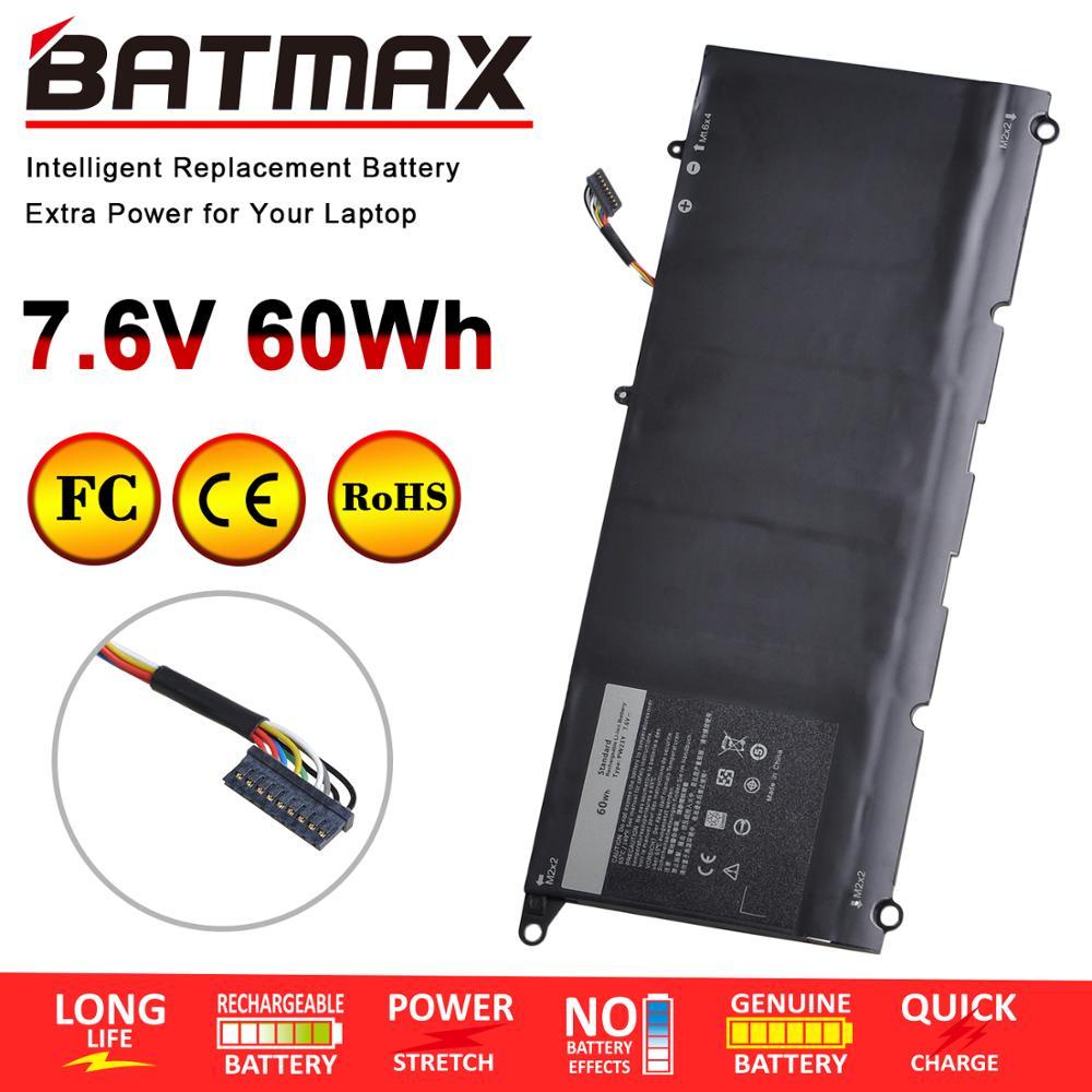 7.6V 60Wh PW23Y Laptop Battery For Dell Xps 13 9360 XPS 13-9360-D1605G Series 0RNP72 TP1GT 0TP1GT
