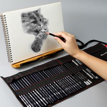Marie ołówek do szkicowania zestaw szkic pióro zestaw ołówków dla początkujących uczeń profesjonalny pełny zestaw szkic pióro dostaw sztuki tanie i dobre opinie CN (pochodzenie) BDBL