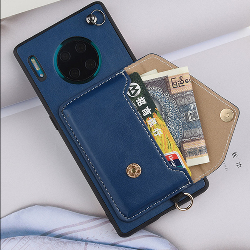Crossbody Long Chain Phonecase For Samsung Galaxy S20 Ultra Plus S9 S10 Plus S10E Note9 Card Wallet Case Back Cover With Strap