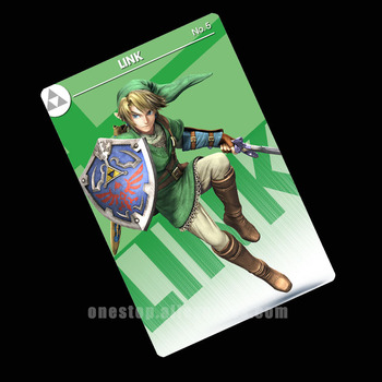 Enlace NFC Amiibo tarjeta Super Smash Bros final interruptor