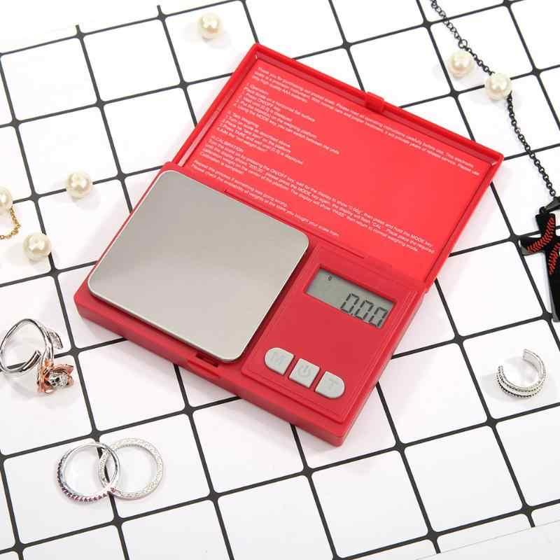 الذهب التوازن أدوات الوزن مجوهرات جيب النخيل مقياس رقمي LCD الخلفية عالية الدقة آلة المطبخ الإلكترونية