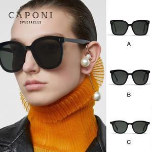 Image 4 - CAPONI Gentle Jennie Sunglasses 2020 Her Women Sunglasses Korea Famous Brand Unisex Star Fashion Vintage Lady Sun Glasses GM2020