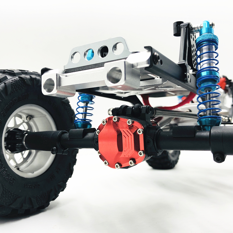 """Image 3 - New 313mm 12.3""""  inch Wheelbase Assembled CNC metal Frame Chassis for 1/10 RC Crawler Car SCX10 II kit 90046 90047 UpgradeParts & Accessories   -"""