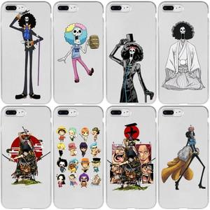 One Piece Brook Cover Case for Xiaomi Redmi Note 9 9S 9A 9C 8T 8 7 6 5 4 Pro Max Prime