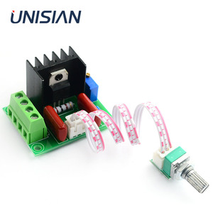 Image 1 - UNISIAN  2000W PWM Motor Speed Controller Power module High Power Controller Board Output Voltage Adjustable AC50V 220V