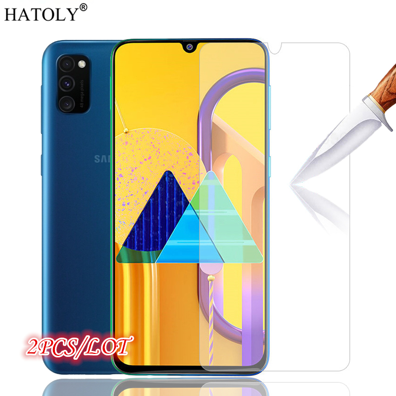 2Pcs For Samsung Galaxy M30S Protective Glass For Samsung Galaxy M30S Tempered Glass HD Phone Screen Protector For Samsung M30S