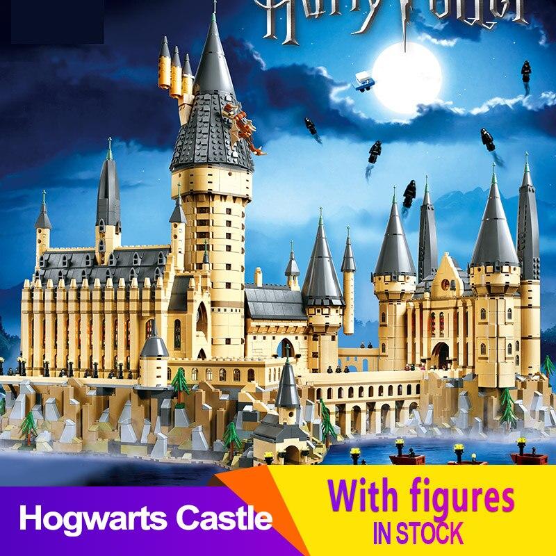 6120 PCS Compatible LegoINGlys 71043 Movie Hogwart Magic Castle School Building Blocks Bricks Potter DIY Toy Kid Christmas Gifts