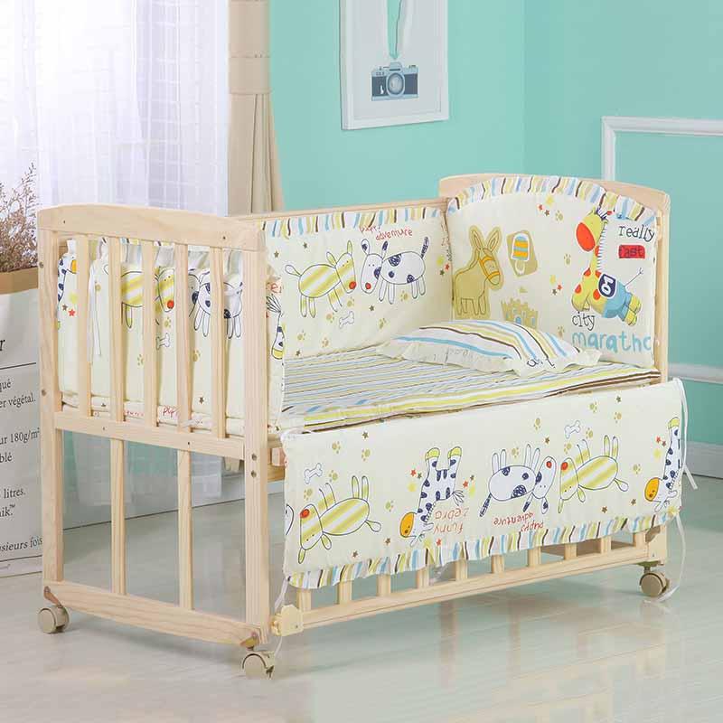 crib bed bumper 1