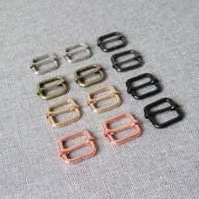 10 шт/лот 20 мм тяжелый металлический регулятор слайдер сумка