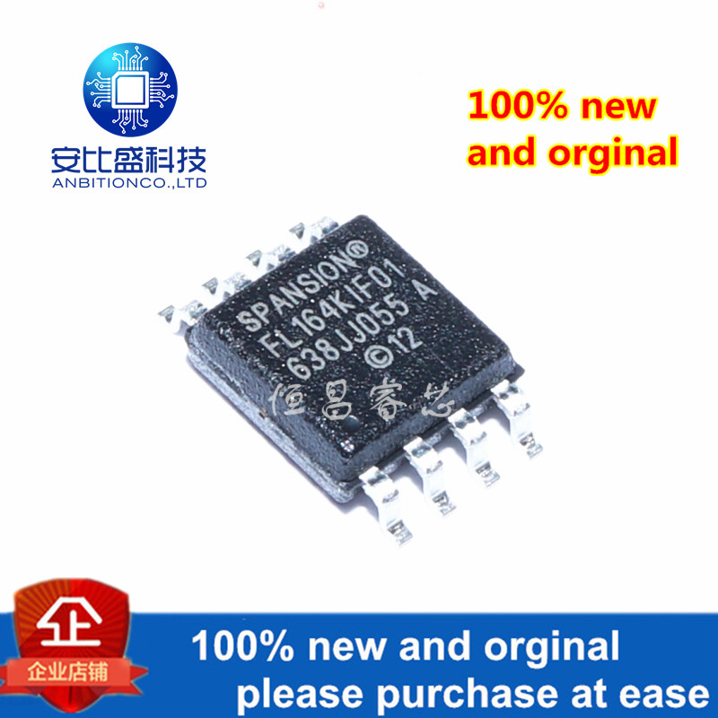 1pcs 100% New And Orginal S25FL164K0XMFI011 Silk-screen 25FL164KIF01 64Mbit In Stock