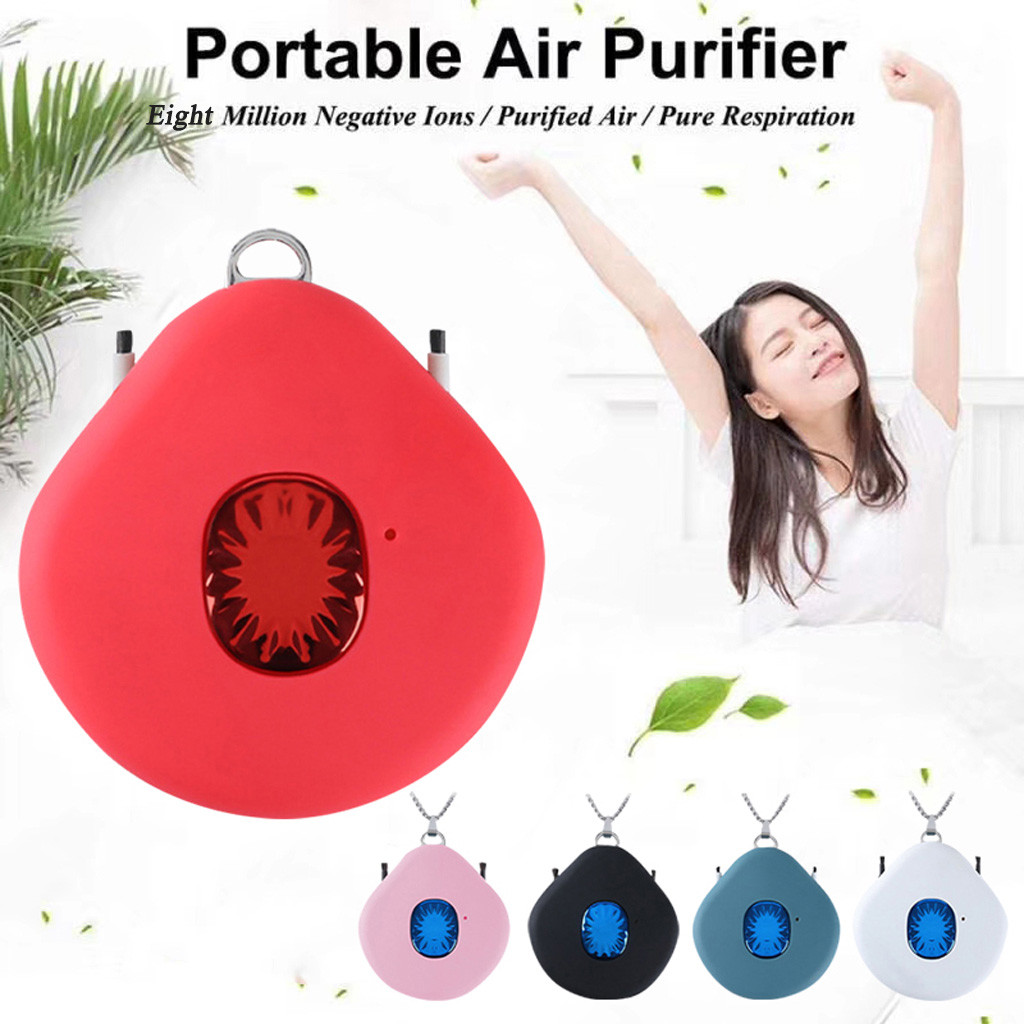 Necklace Hanging-Neck Personal-Wear Portable Small USB Pm2.5-Purifier Negative-Ion Fashion
