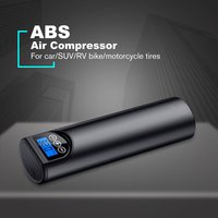 12V 150PSI USB Interface Portable Air Compressor Inflatable Pump with LCD Display for Car Bicycles Tires Balls Swimming Rings