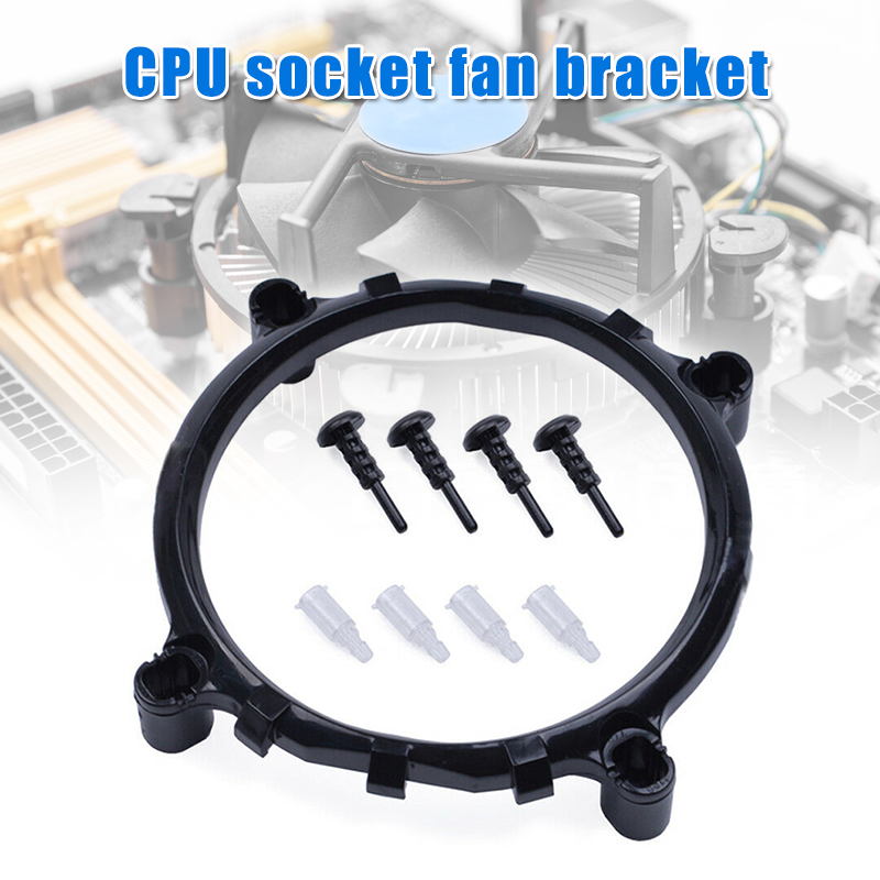 CPU Socket Mount Cool Fan Heatsink Bracket For Intel LGA 775/1156/1155/1150
