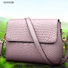 Brand genuine leather bag crossbody bags for women ZOOLER 2019 hot messenger lady shoulder bolsa feminina#6152