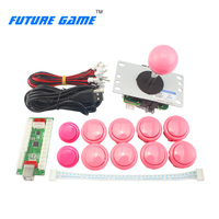 High quality Arcade DIY kit Zero delay push button joystick with micro switch for hot sale