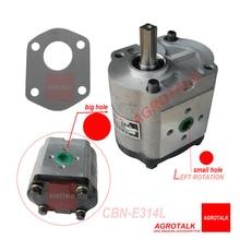 CBN-E314L de bomba de engranajes (rotativo izquierdo, sin brida, sin salida de aceite de extremo, eje forrado) de tractor de Feng