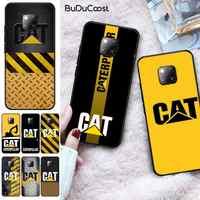 Logotipo CUCI Caterpillar. Funda de silicona suave para móvil, funda negra para Huawei Mate 9 20X 10 30 20Pro 10 20Lite NOVA 3I 3E 4 5 5I PRO