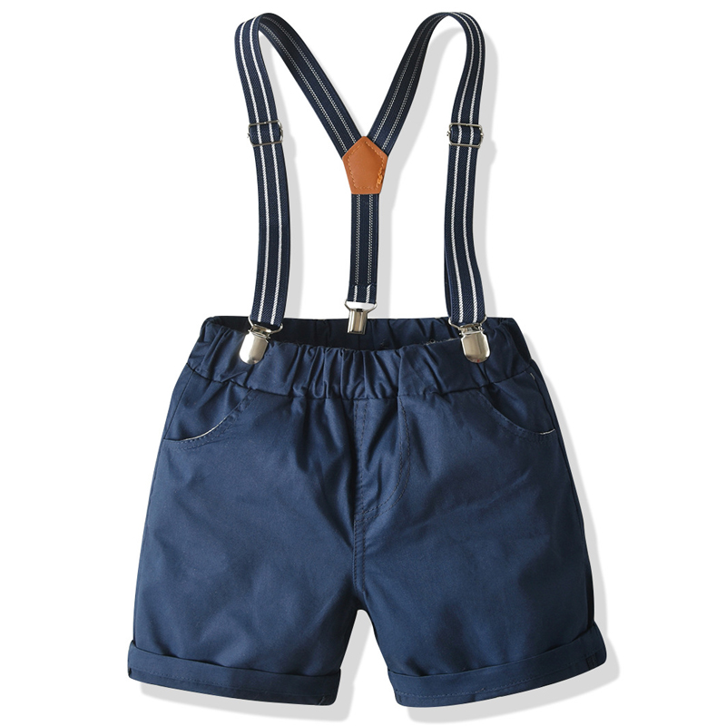 Children Clothing For Boys Overalls 2021 Summer Baby Boy Shorts Costume For Kids Casual Cotton Overalls 1 2 3 4 5 6 7 Years Old
