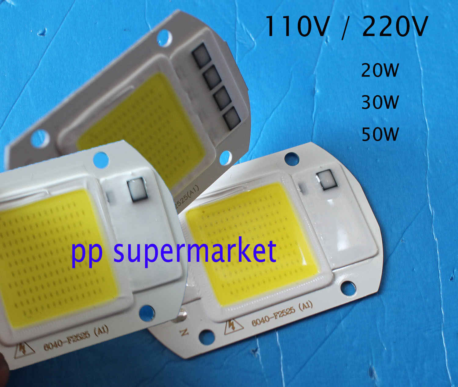 20 w 30 w 50 w led projector cob chip 110 v 220 v entrada integrado inteligente ic driver