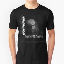 Euphoria – t-shirt 100% pur coton, série Euphoria Zendaya Euphoria, série de photos de tabac, Art, désolé