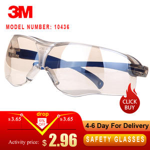 3M Goggles Protective-Glasses Working-Eyewear Anti-Splash Windproof Riding Pc-Lens