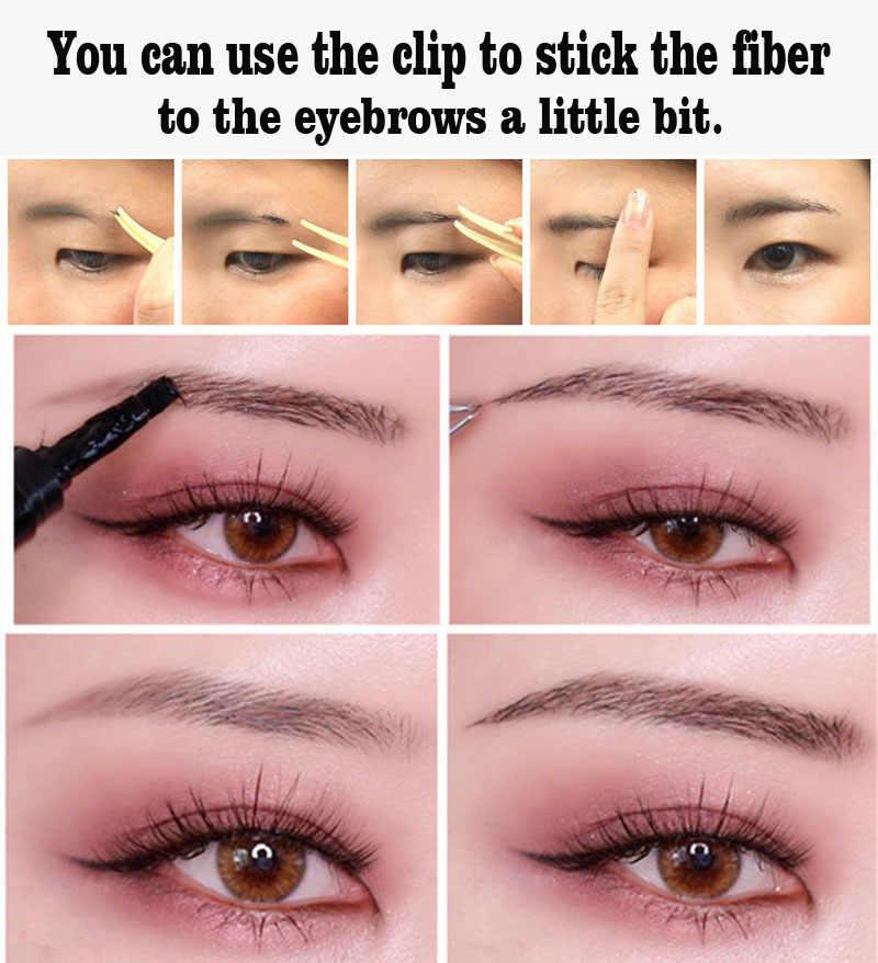 Wenkbrauw Enhancers Fiber Natuurlijke Haar Gel Make-Up Eye Brow Extension Getint Bruin Langdurige Tattoo Wenkbrauwen Vrouwen TSLM1