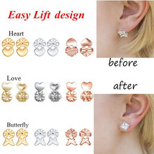 Earring Back-Lifter Jewelry Animal Women Cute for Handmade Wholesale Gift Gold/silver-Color