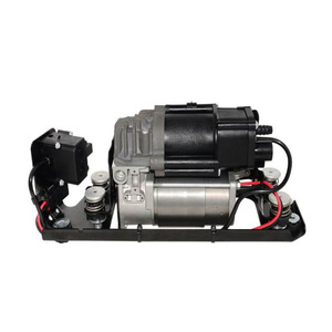 Image 3 - New Air Suspension Compressor With Suspension Valve Bracket For BMW F01 F02 F03 F04 730I 740i 740Li 750i 750Li 760Li 37206864215