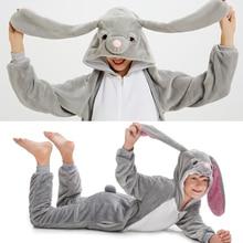 Пижама Кигуруми для детей и взрослых, пижама с единорогом для мальчиков и девочек