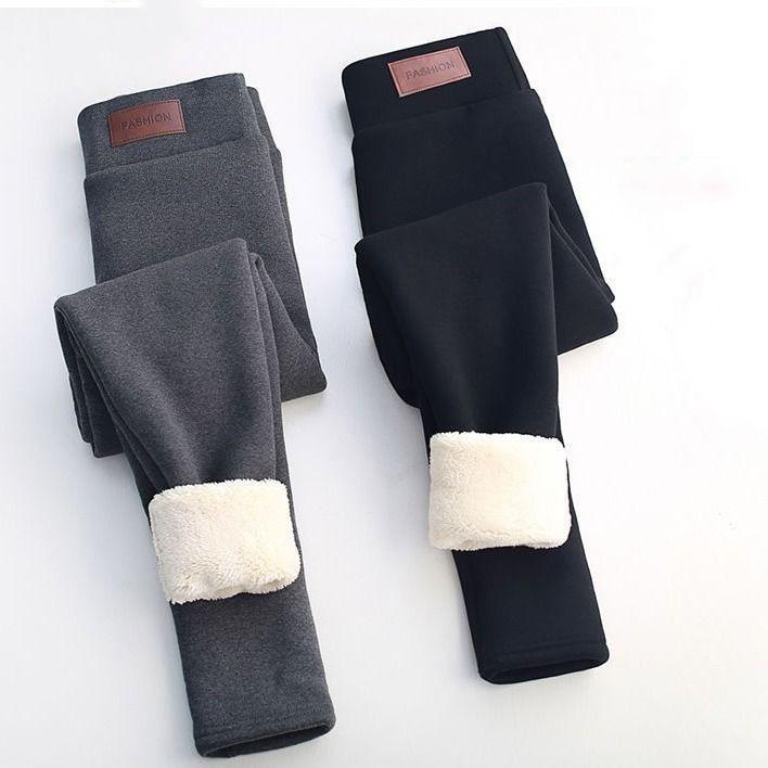 Winter Pants Women Thermal Leggings High Waisted Pants For Women Flannel Streetwear Trousers Women Winter Casual Pants Women 3XL