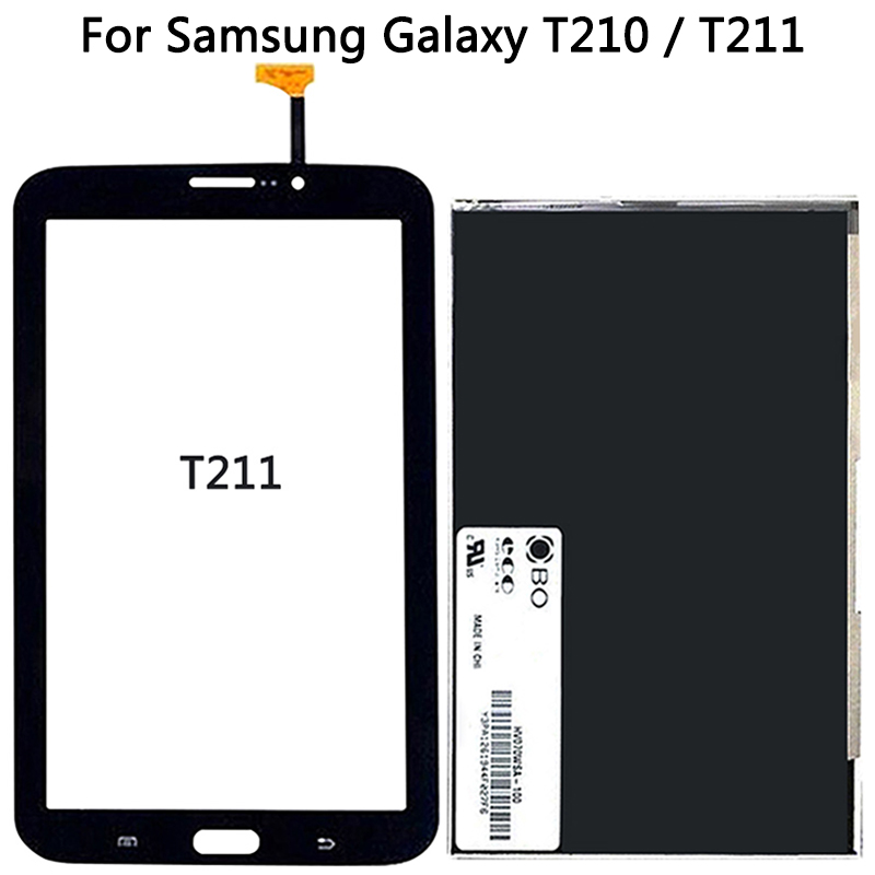 For <font><b>Samsung</b></font> Galaxy Tab 3 7.0 SM-T210 <font><b>T211</b></font> <font><b>LCD</b></font> Display Touch Sensor Glass Digitizer Panel New T210 <font><b>LCD</b></font> Touch Screen image