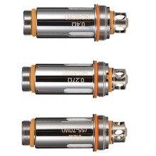 Cabeças de Bobina de Substituição Para Aspire Cleito 5 Pçs/set Bobina 0.15/0.2/0.27/0.4/0.5 ohm