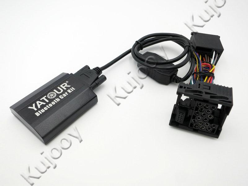 Yatour BTK Bluetooth Car Kit Digital Music CD Changer 17Pin Switch Cable Connector For BMW 3 5 7 E36 E38 E39 E46 Radios